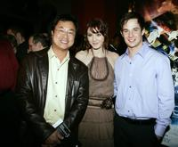 Director James Wong, Mary Elizabeth Winstead and Ryan Merriman at the premiere of