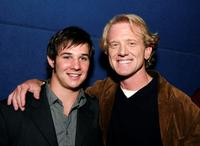 Ryan Merriman and Director James Redford at the screening of