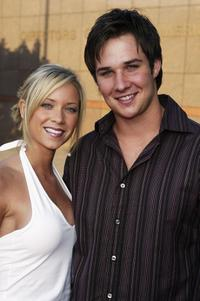 Micol and Ryan Merriman at the Los Angeles premiere of