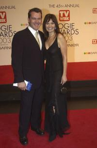 Erik Thomson and Caitlin McDougall at the 45th Annual TV Week Logie Awards 2003.