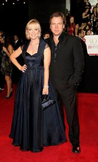 Rebecca Gibney and Erik Thomson at the 50th Annual TV Week Logie Awards.