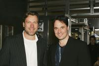 Erik Thomson and Paul Mercurio at the media launch of Channel 7's upcoming mini-series