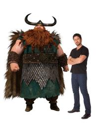Gerard Butler voices Stoick in