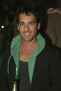 Alex Dimitriades at the launch of the new magazine