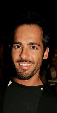Alex Dimitriades at the show by designer Zambesi during the Rosemount Australian Fashion Week Spring / Summer 2007 / 2008.