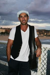 Alex Dimitriades at the launch of the Flickerfest Short Film Festival.