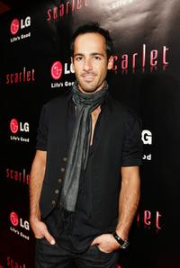 Alex Dimitriades at the launch of the