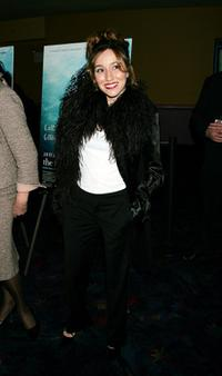 Lola Duenas at the premiere of
