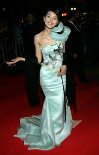 Gao Yuanyuan at the Closing Night Dinner during the 58th International Film Festival.