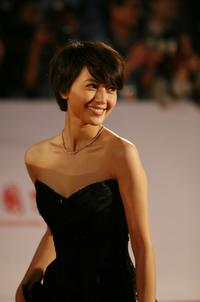 Gao Yuanyuan at the opening ceremony of 11th Shanghai International Film Festival.
