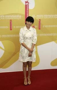 Gao Yuanyuan at the photocall of