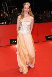 Jeanette Hain at the premiere of