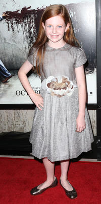 Claire Foley at the California premiere of
