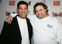 Michael Deeg and Artie Lange at the premiere of