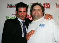 Anthony DeSando and Artie Lange at the premiere of