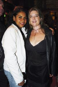 Deborah Mailman and Kar Chalmers at the premiere of