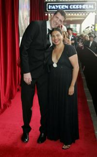 Deborah Mailman and Guest at the Sydney premiere of