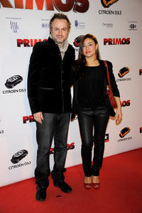 Tristan Ulloa and Guest at the Spain premiere of