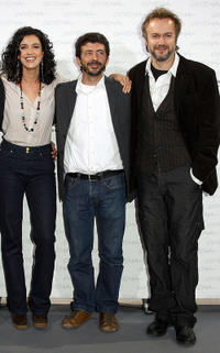 Blanca Romero, director Alberto Rodriguez and Tristan Ulloa at the photocall of