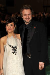 Tristan Ulloa and Guest at the 22nd Goya Cinema Awards 2008.