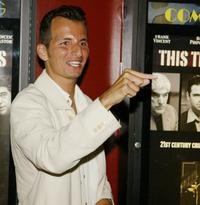 Louis Vanaria at the premiere of