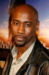 D.B. Woodside at the premiere of