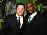 Greg Grunberg and D.B. Woodside at the 2007 Mint Jubilee Gala Fundraiser.