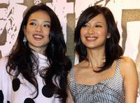 Shu Qi and Xu Jinglei at the promotion of