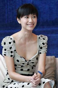 Xu Jinglei at the promotion of