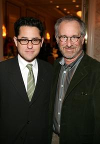 J.J. Abrams and Director Steven Spielberg at the AFI Awards Luncheon 2005.