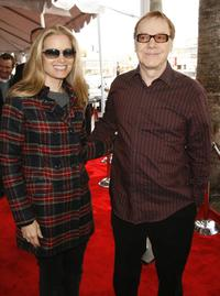 Bridget Fonda and her husband Danny Elfman at the Los Angeles premiere of