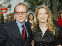 Bridget Fonda and her husband Danny Elfman at the California world premiere of