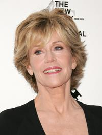 Jane Fonda at the New Line Cinema's 40th Anniversary celebration.