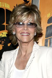 Jane Fonda at New York Benefit Screening of