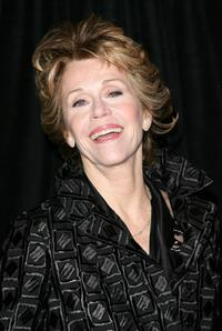 Jane Fonda at the New York for the opening night of