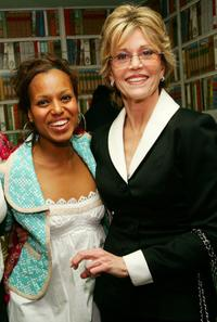 Jane Fonda and Kerry Washington at the V-Day's festival