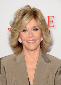 Jane Fonda at the California premiere of