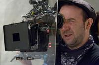 Director Paul Mcguigan on the set of