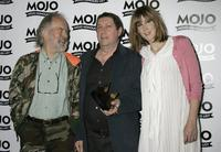 Roy Harper, Bert Jansch and Beth Orton at the MOJO Honours List awards.