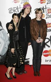 Johnsons, Beth Orton and Guest at the Brit Awards 2006.
