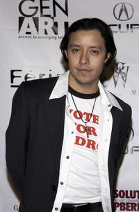 Efren Ramirez at the Gen-Art Fall 2005 LA Fashion Week Kick Off Party.
