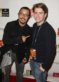 Efren Ramirez and Chris Barrett at the Ray Ban Visionary Awards Gala during the 2009 Sundance Film Festival.