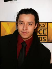 Efren Ramirez at the 10th Annual Critics' Choice Awards.