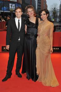 Leon Lucev, director Jasmila Zbanic and Zrinka Cvitesic at the 60th Berlin International Film Festival.