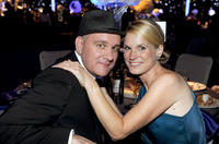 Mike O'Malley and Lisa O'Malley at the Governor's Ball during the 62nd Primetime Creative Arts Emmy Awards.