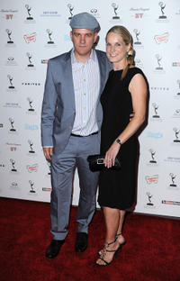 Mike O'Malley and Lisa O'Malley at the Academy Of Television Arts & Science's Performers Nominee Reception in California.