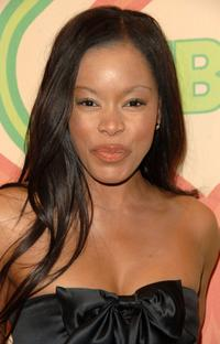 Golden Brooks at the HBOs Post Golden Globe After Party.