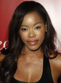 Golden Brooks at the Fredericks of Hollywood Spring 2008 Collection debut.