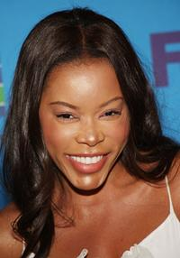 Golden Brooks at the 39th NAACP Image Awards Nominee Luncheon.