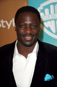 Adewale Akinnuoye-Agbaje at the In Style Magazine and Warner Bros. Studios Golden Globe After Party.